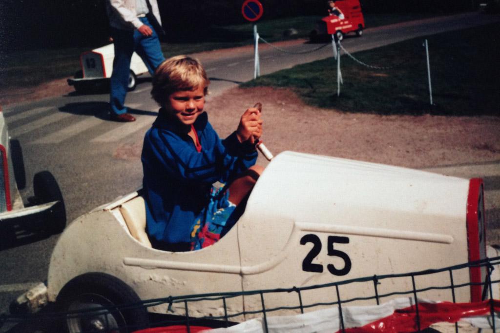 1986: in Verkeerspark Assen.