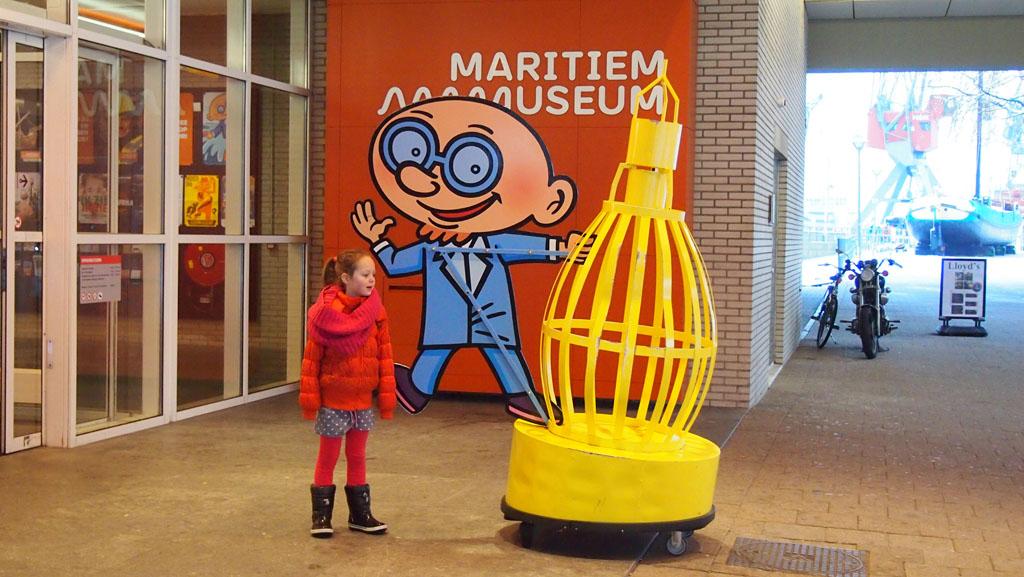 Maritiem Museum met kinderen