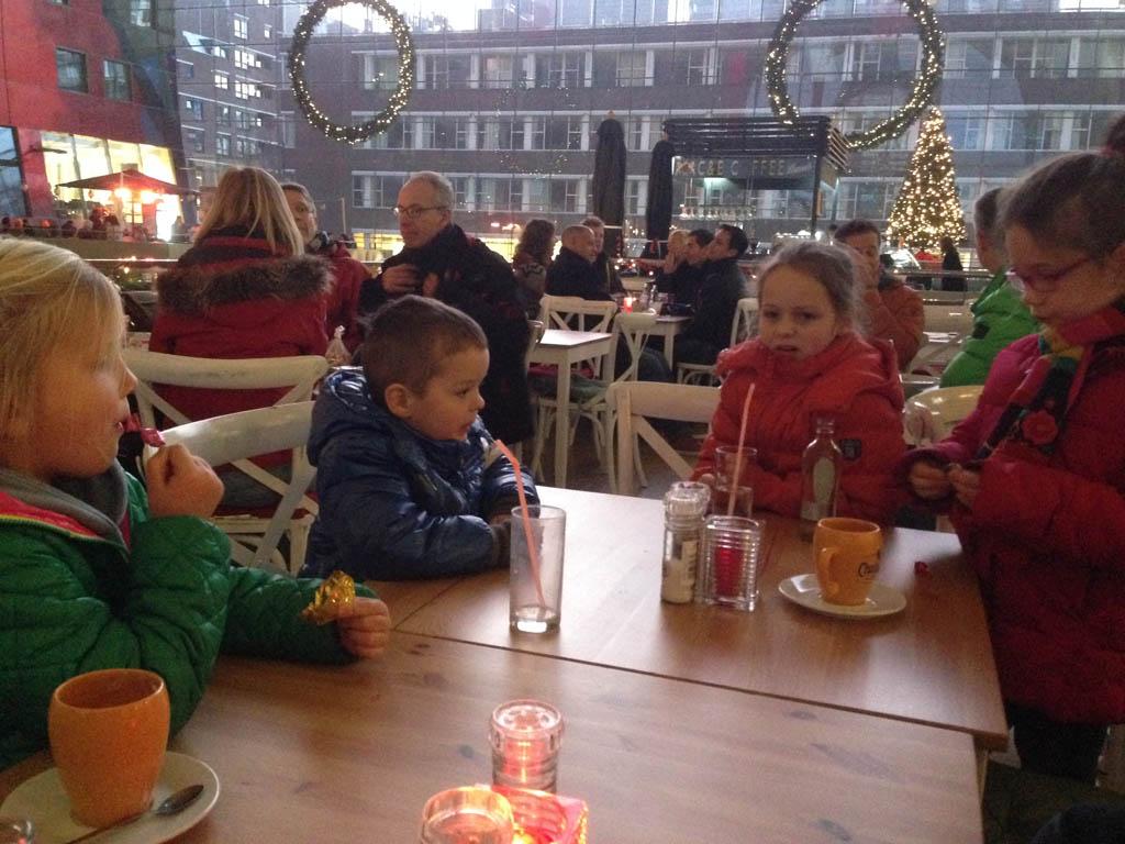 Markthal met kinderen