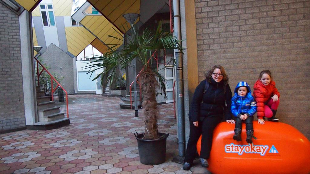 Stayokay kubuswoningen Rotterdam