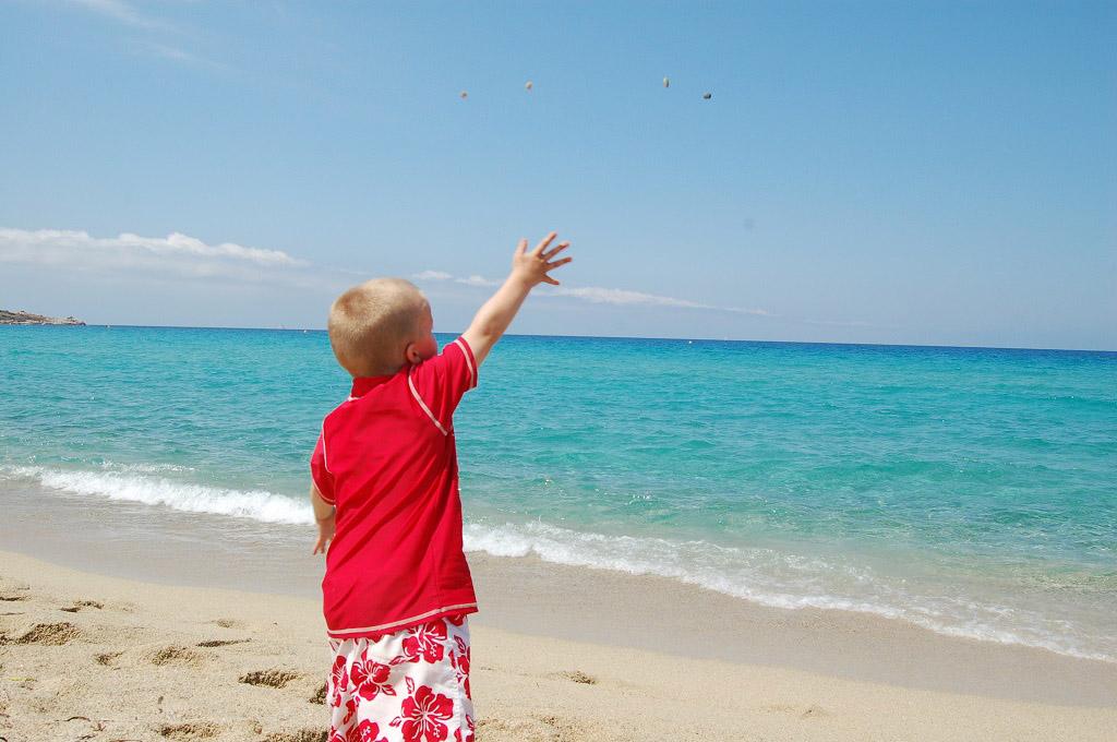 Corsica heeft prachtige stranden...