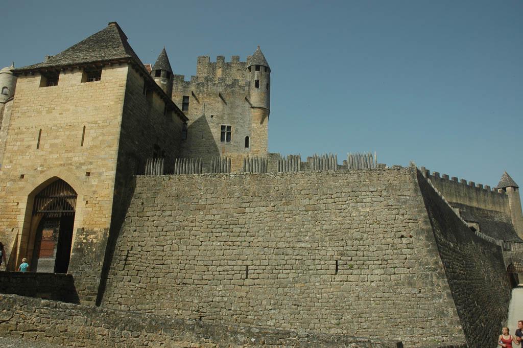 Suzanne bezocht Chateau de Beynac in de Dordogne.