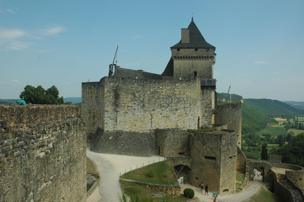 Chateua Castelnaud. Met echte ridders!