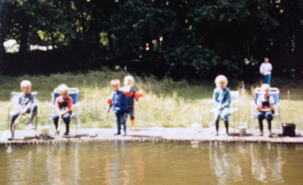 Kamperen in Ommen in 1987