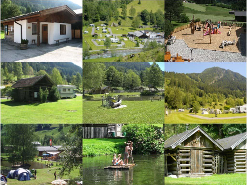Mountain Camp in Tirol.