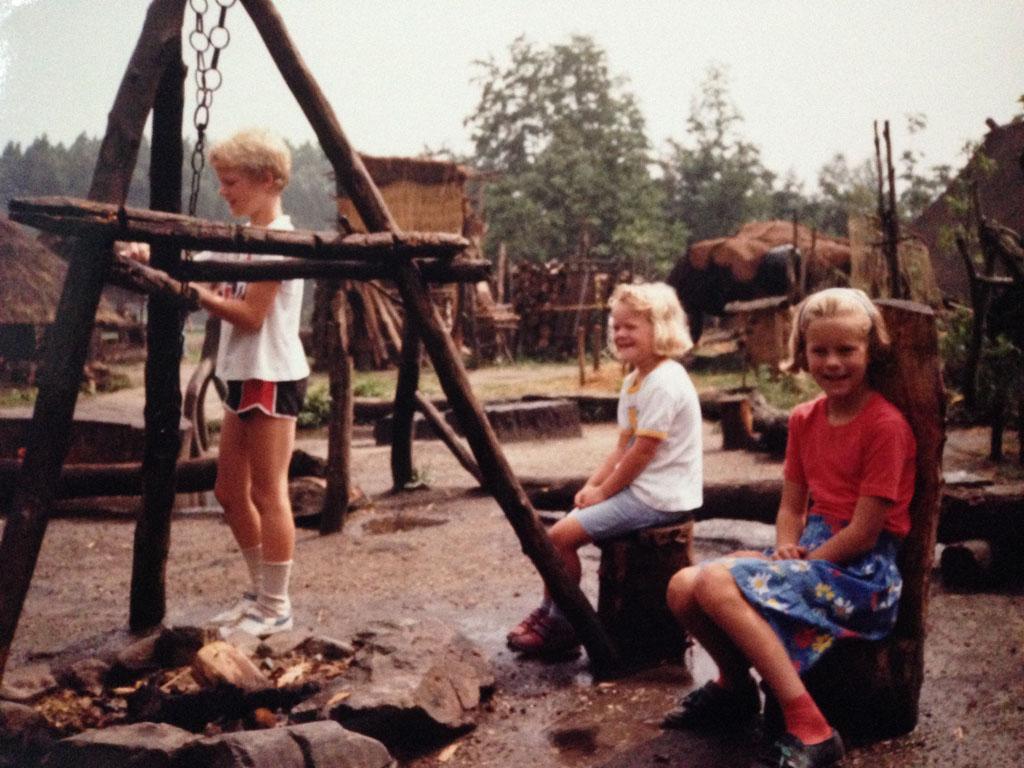 1989: pre-historisch kamp bij Eindhoven