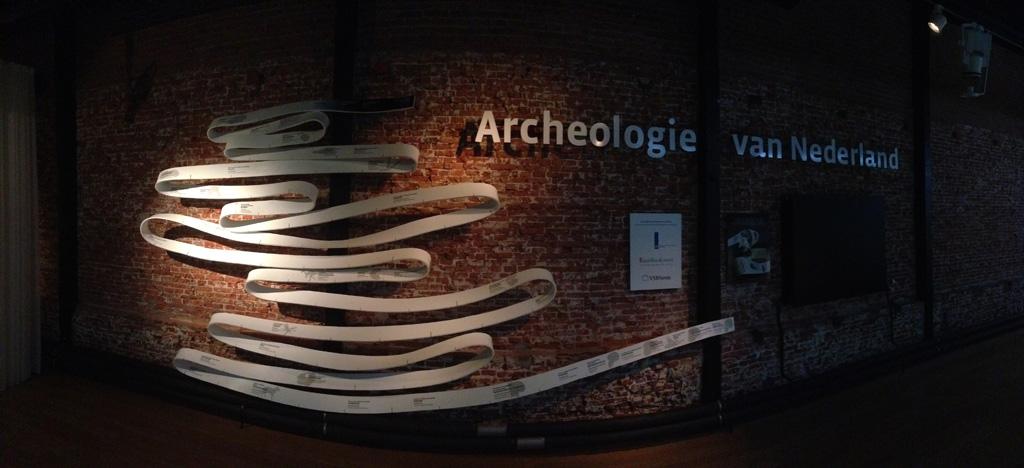 Het gedeelte over de archeologie van Nederland is nog maar een paar jaar oud.
