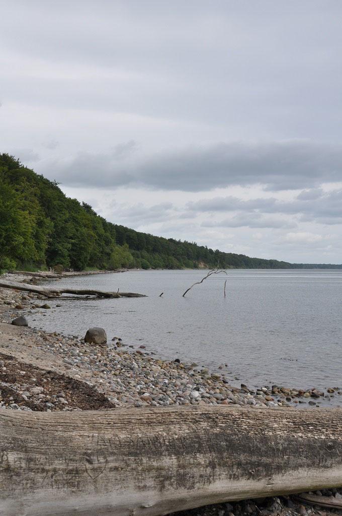 Het Vejle fjord vlakbij Camping Logballe.