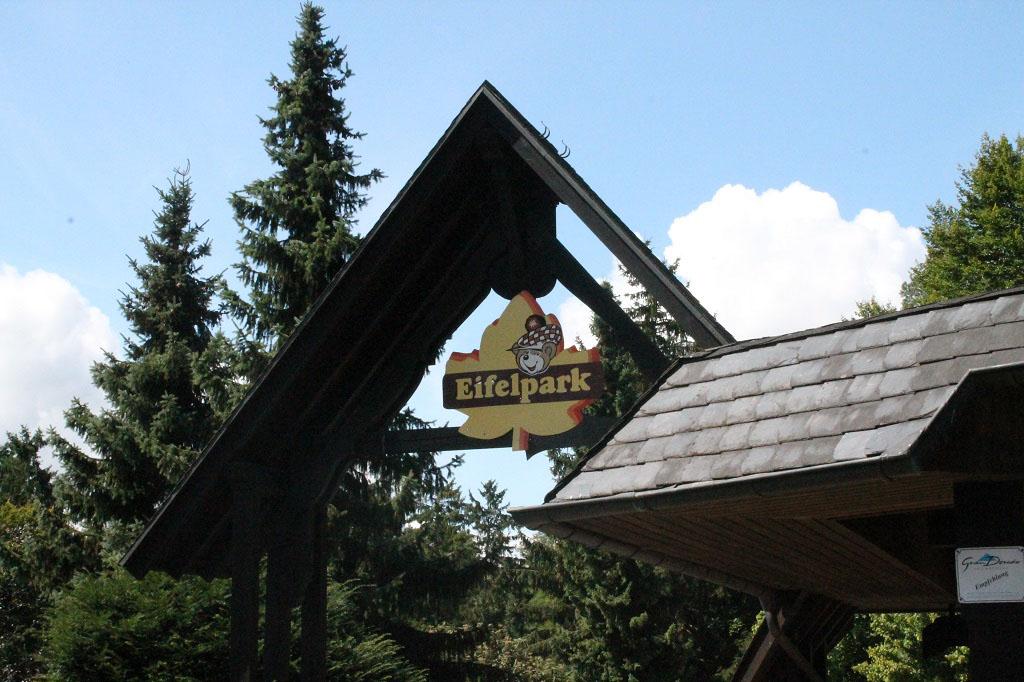De entree van het Eifelpark.