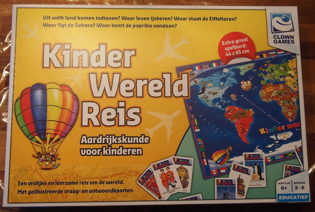 KinderWereldReis: een spel met aardrijkskunde voor kinderen als thema.