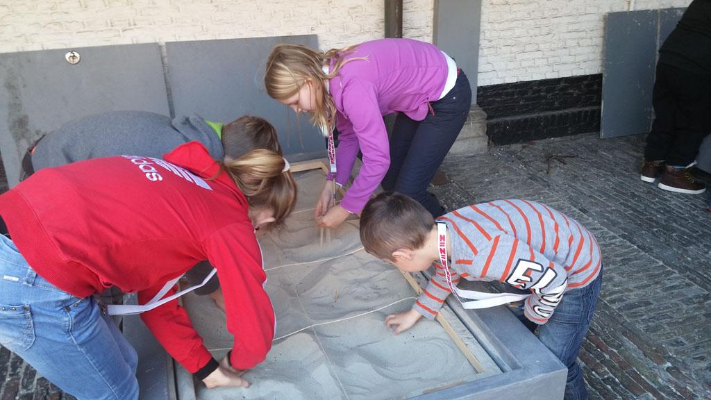 Fossielen opgraven