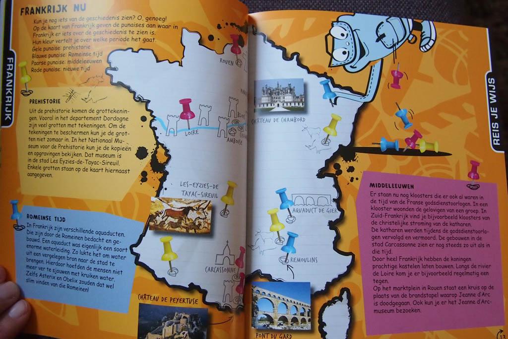 De 'Wat & Hoe Kids'-reisgids ziet er erg aantrekkelijk uit.