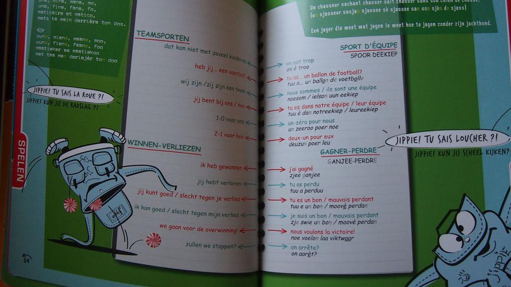 Eerste Franse woordjes leren.