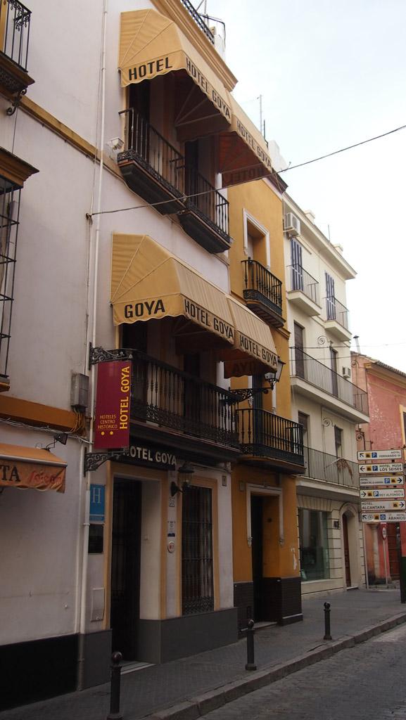 Hotel Goya, op 200 meter van de kathedraal, Real Alcázar en de leuke wijkjes die daar om heen liggen.