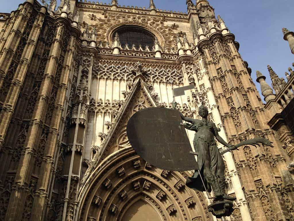 De kathedraal van Sevilla.