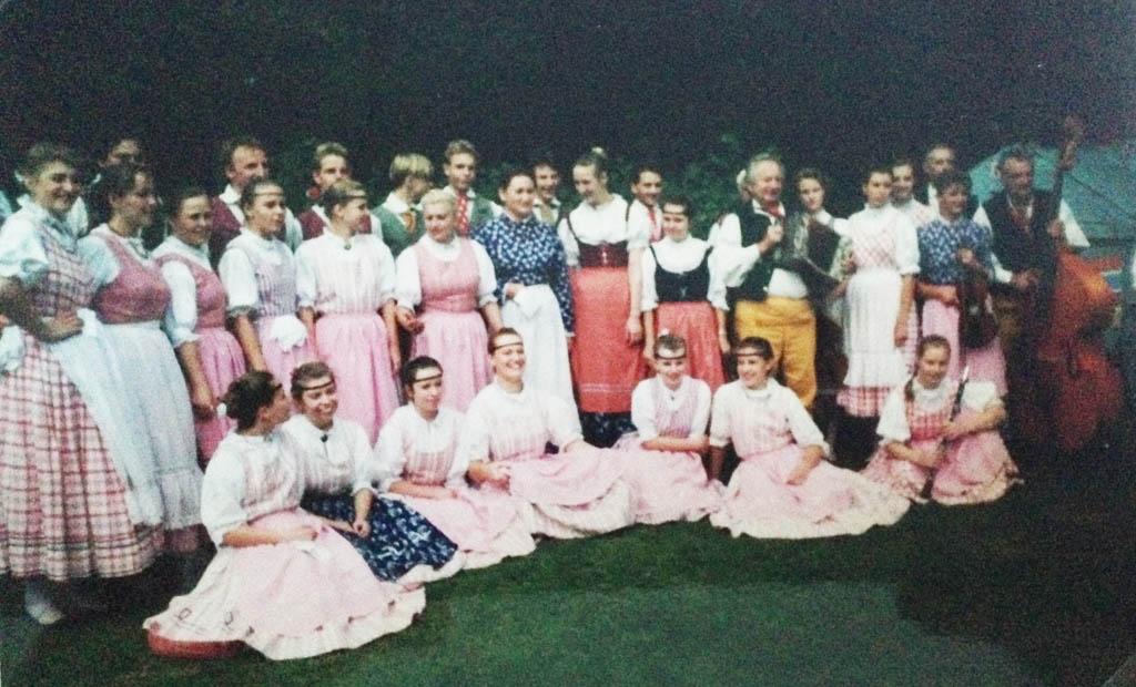 Vakantie in Drenthe in 1993: we bezochten o.a. het folkloristisch festival in Odoorn.