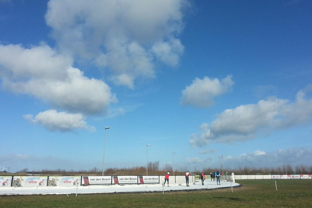 Hier staat Flevonice om bekend: echt schaatsen in de natuur.