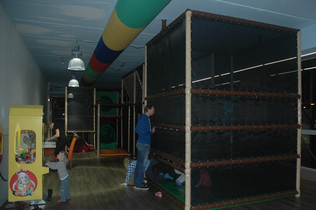 Een groot speelparadijs, mét toezicht.