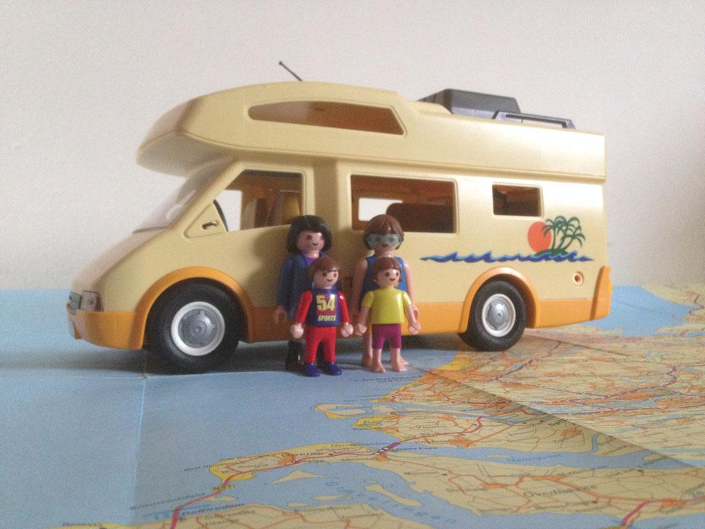 Op zoek naar kindvriendelijke camperplaatsen.