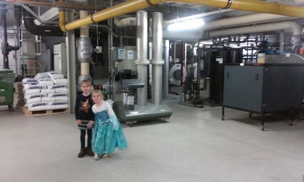 Wat een grote machines in het Amstelland Ziekenhuis.