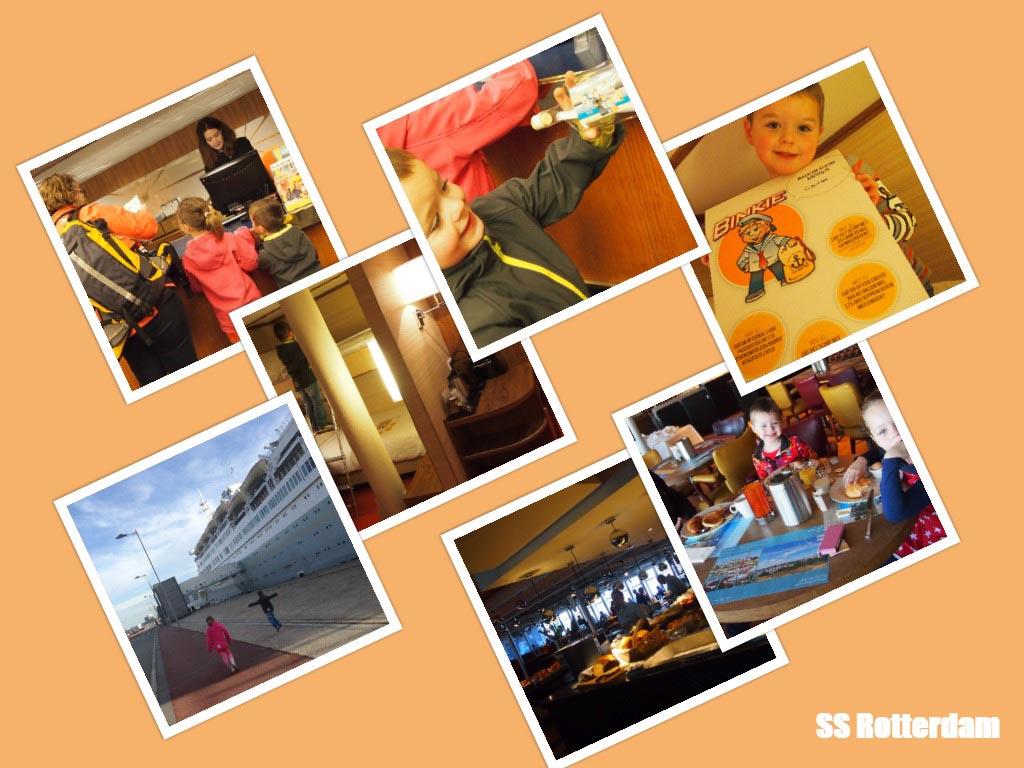 100% vakantiegevoel op het SS Rotterdam.
