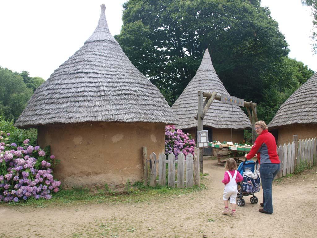 Le Village Gaulois met kinderen