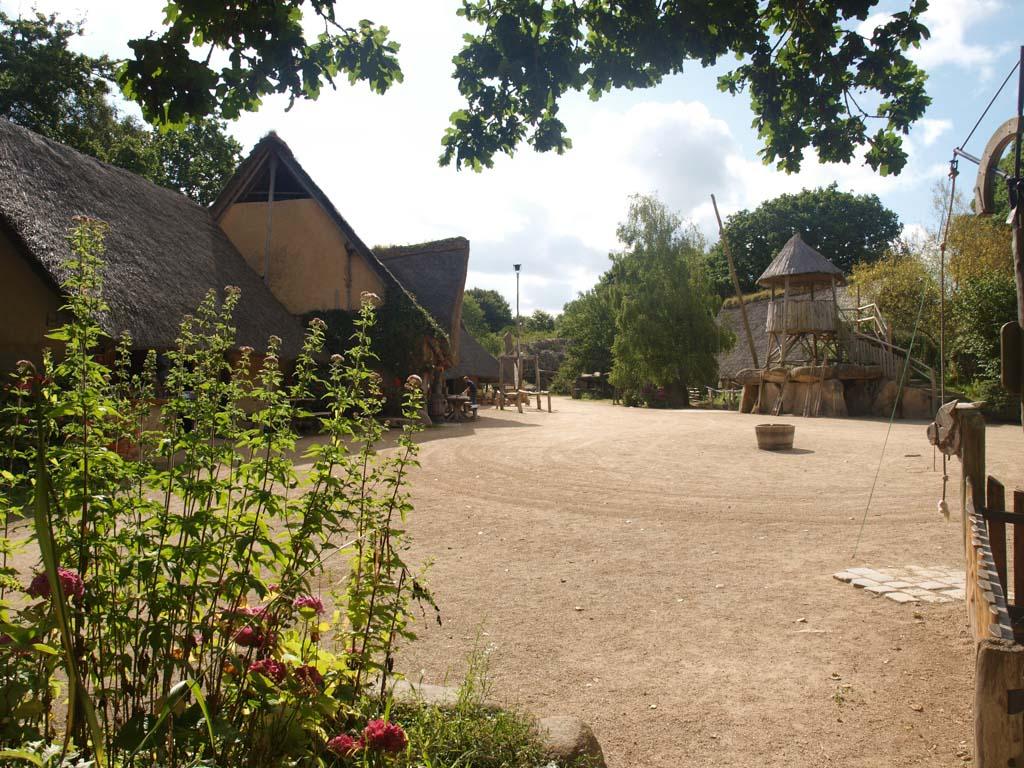 Openluchtmuseum Le Village Gaulois in Bretagne