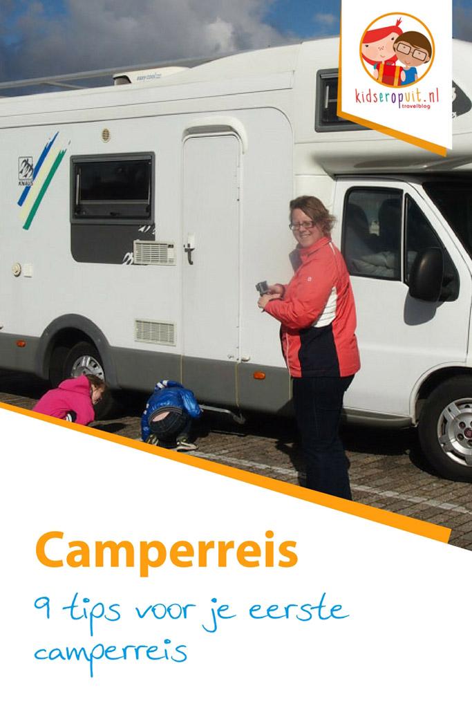 9 tips voor de eerste camperreis