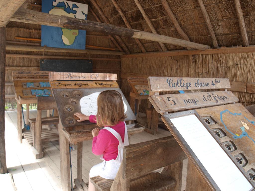 Afrikaans schooltje in Gallisch dorpje