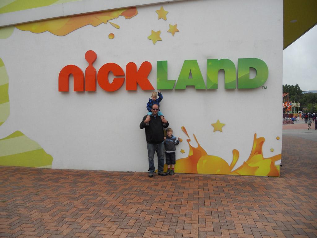 Het kindergedeelte van Moviepark Germany.