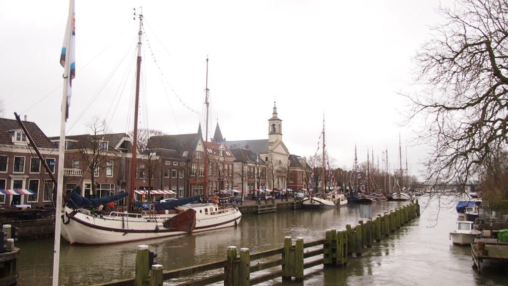 Haven van Muiden.
