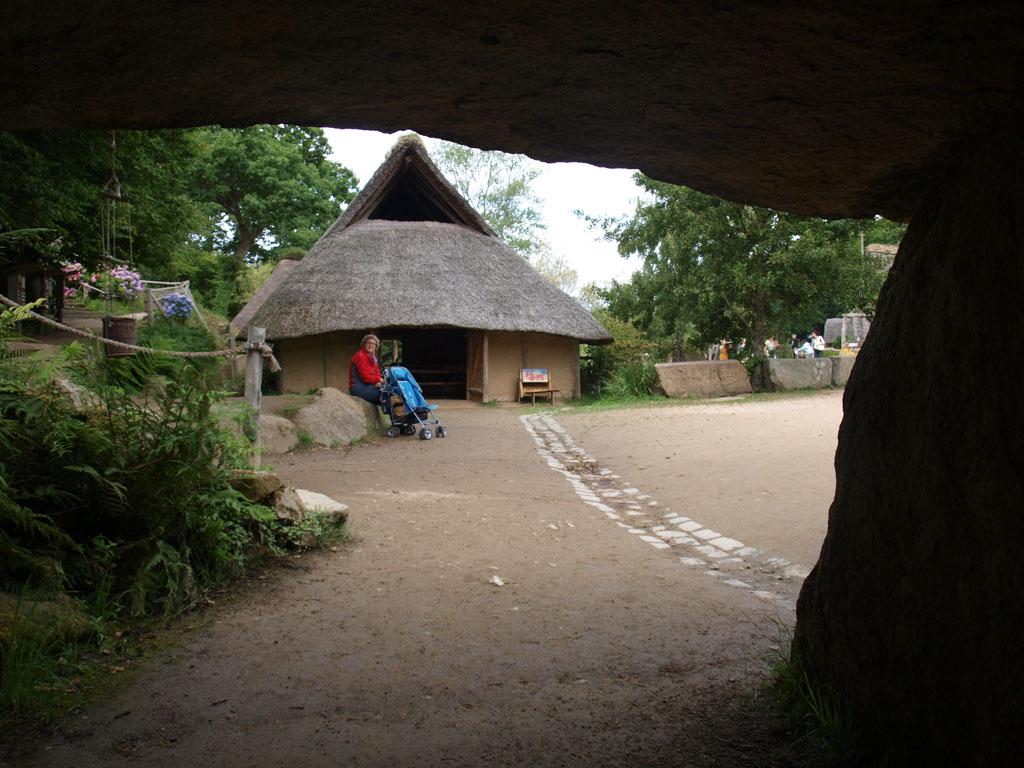 Gallisch dorp met kinderen