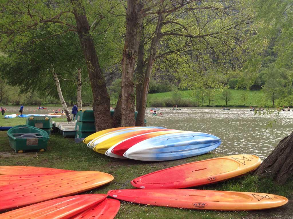 Kanoën, kayakken en nog veel meer mogelijkheden.
