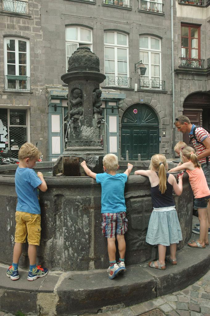 Clermont Ferrand bezoeken met kinderen
