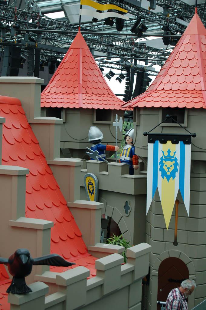 Het ridderkasteel van Playmobil.