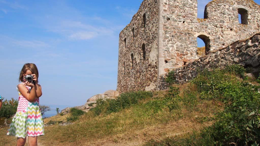 De ruine van Brahehus.