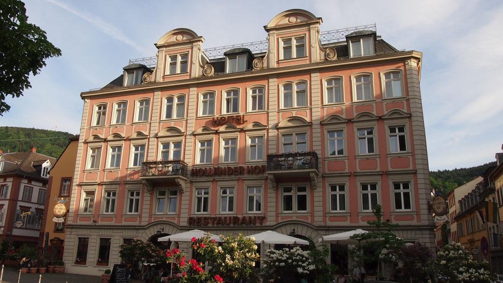 Hotel Höllander Hof ligt midden in Heidelberg.