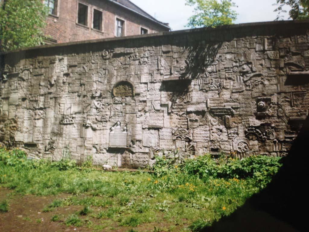 1995: op werkweek naar Krakau.