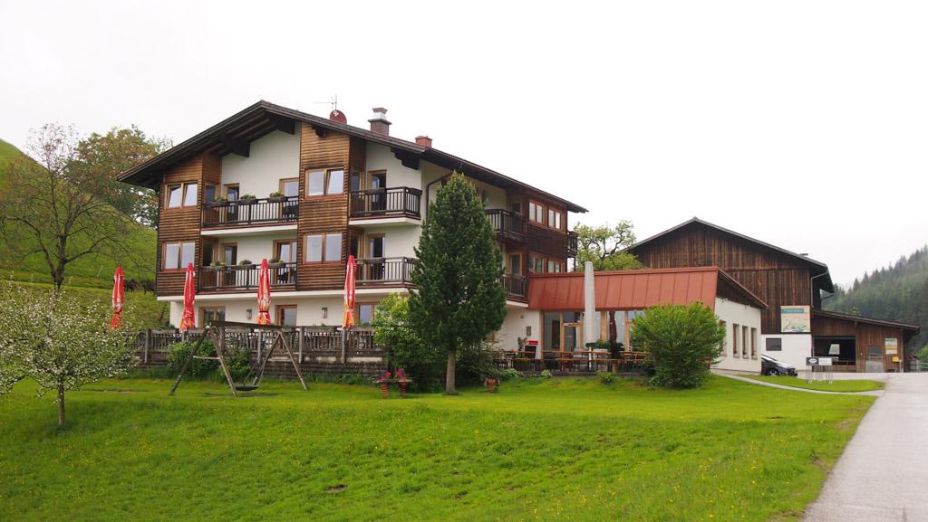 Bio Gasthof Bachrain: midden in de berg én op rijafstand van Salzburg.