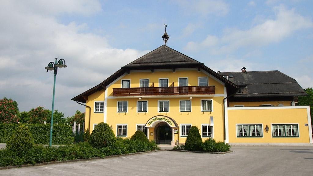 Gasthof Pflegerbrücke. Een fijne uitvalsbasis tijdens een bezoek aan Salzburg met kinderen.