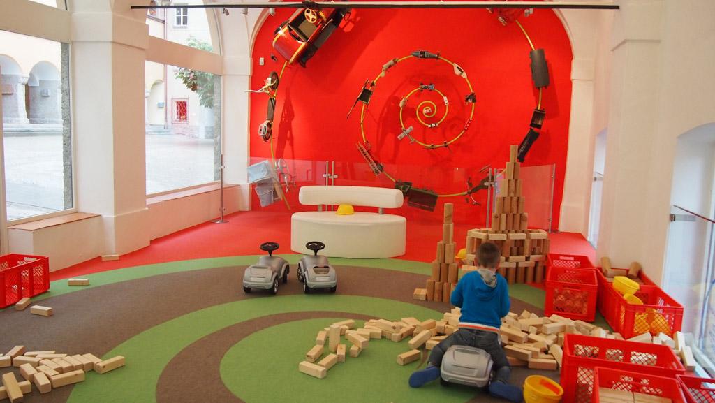 Het Speelgoedmuseum in Salzburg.