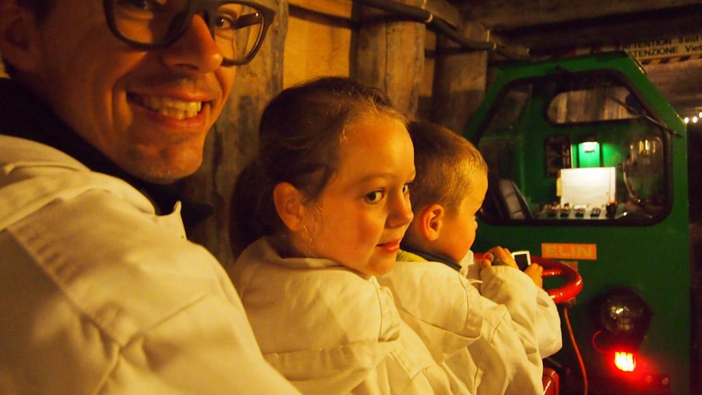 Salzwelten: de zoutmijn in Hallein.