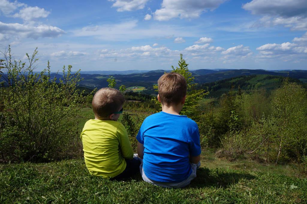 Op vakantie naar Sauerland met kinderen: dichtbij en toch echt buitenland.