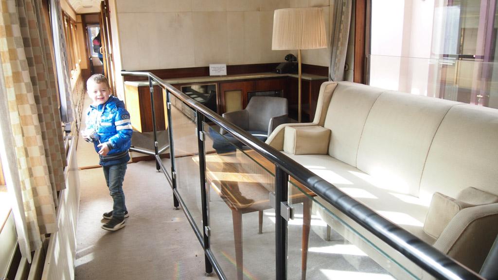 Spoorwegmuseum koninklijke wagon