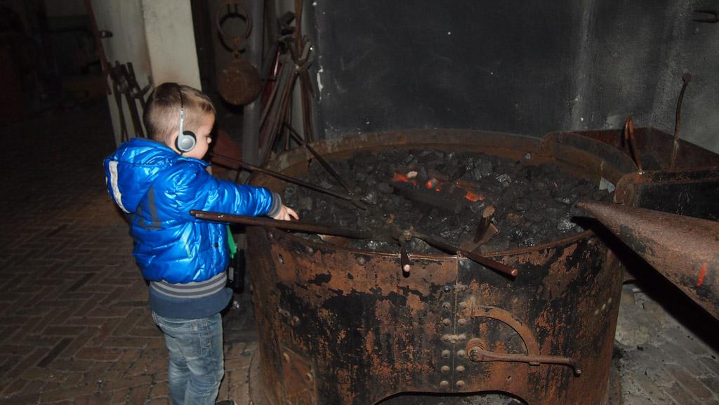 Spoorwegmuseum met kinderen de grote ontdekking