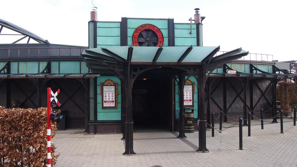 Spoorwegmuseum vuurproef