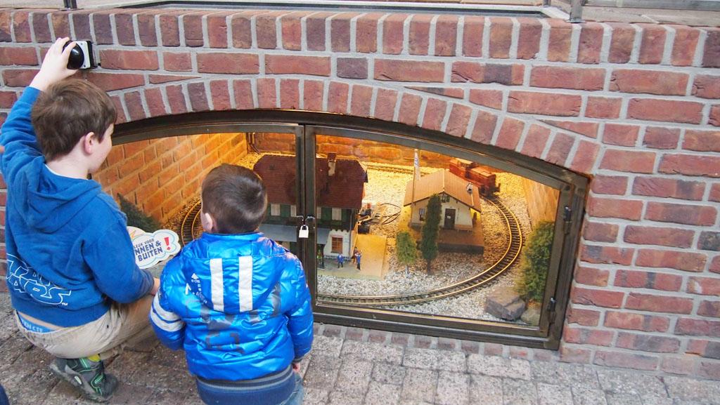 Spoorwegmuseum miniatuurtreintjes