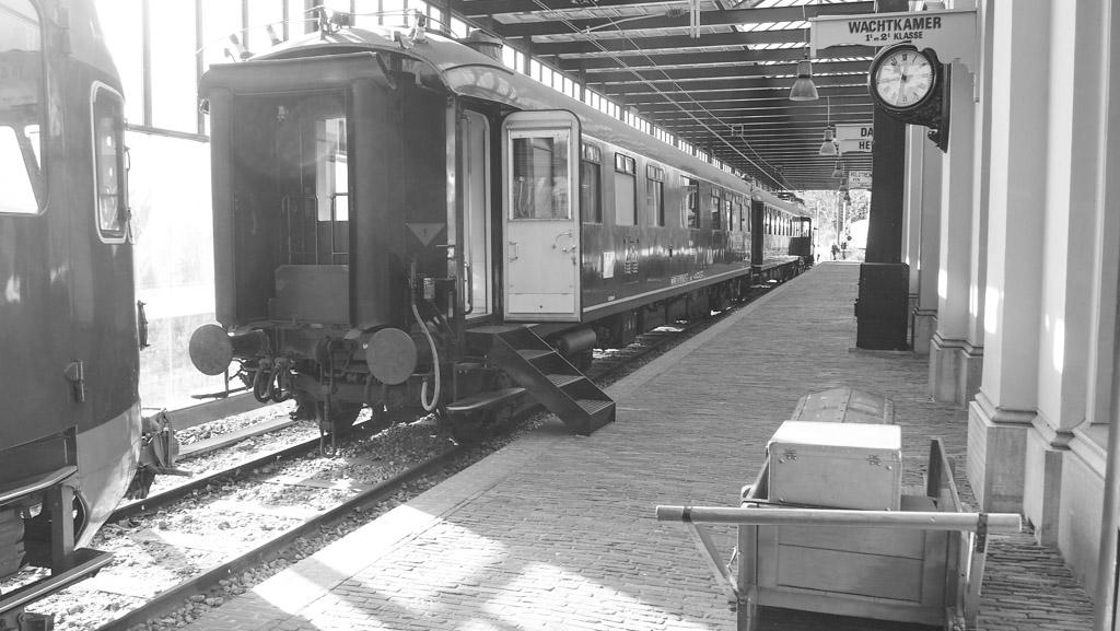 Spoorwegmuseum oude perron