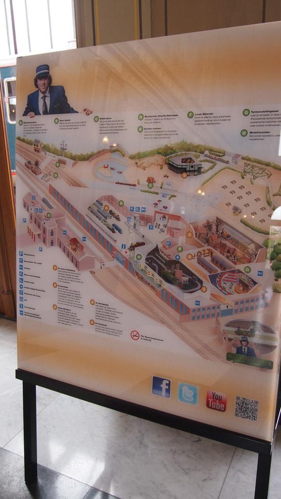 Spoorwegmuseum plattegrond