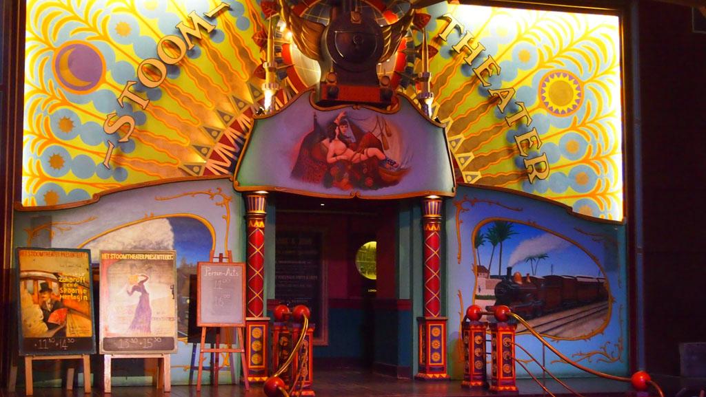 Spoorwegmuseum theatershows